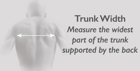 Back support width