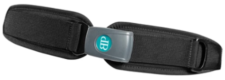Bodypoint two point padded hip belt