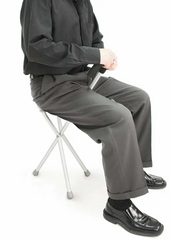 Correct Posture when using seat cane