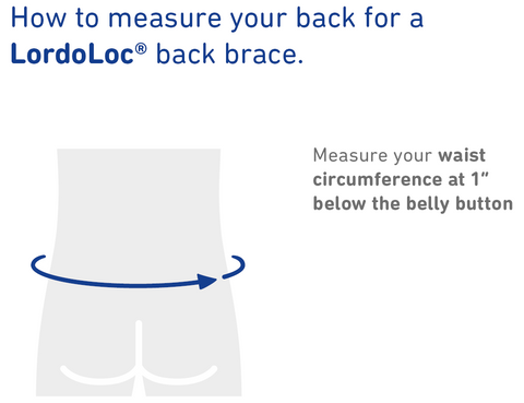 How to Measure Bauerfeind LordoLoc Back Support