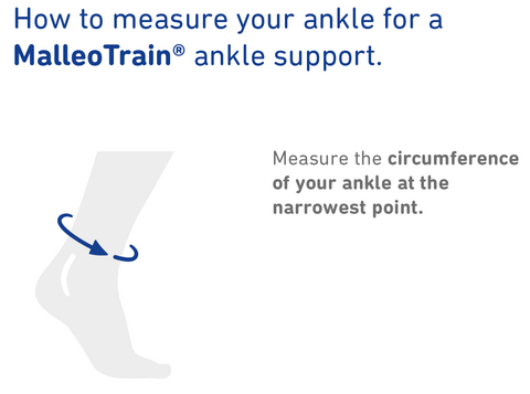 How to Measure Bauerfeind MalleoTrain ankle support