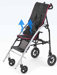 Pigleo II Children Folding Stroller breathable material