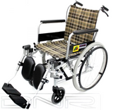 SANCTION Lightweight Elevating Wheelchair with Assisted Brakes