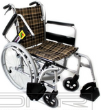 SANCTION Detachable Wheelchair Foldback With Assisted Brakes