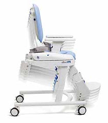 rifton hts height adjustable medical commode