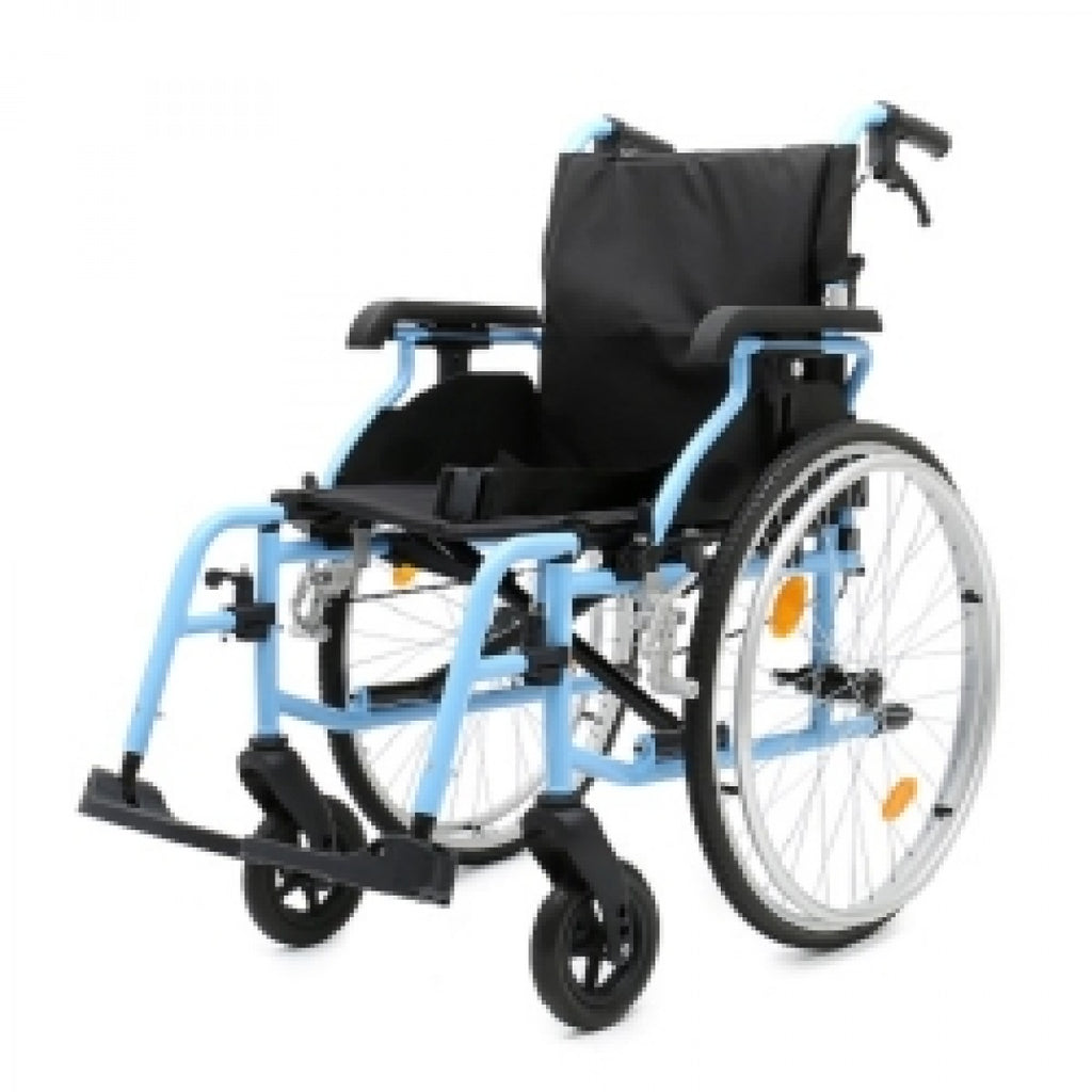 DNR Wheels - DNR LIGHTWEIGHT DETACHABLE WHEELCHAIR WITH HEIGHT ADJUSTABLE ARMREST