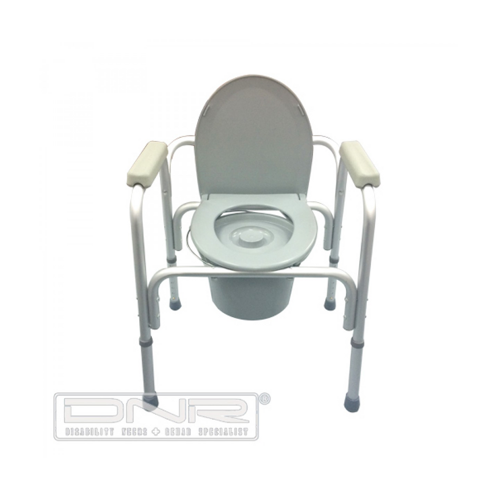 Aluminium Stationary Commode - DNR Wheels