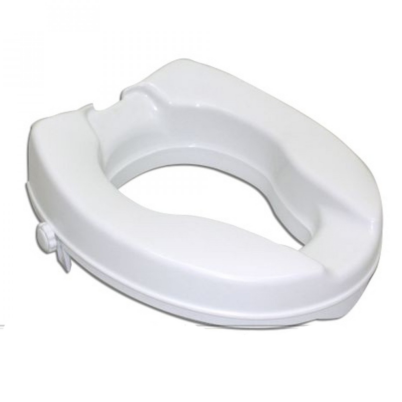 Raised Toilet Seat w/ Clamp-on - DNR Wheels