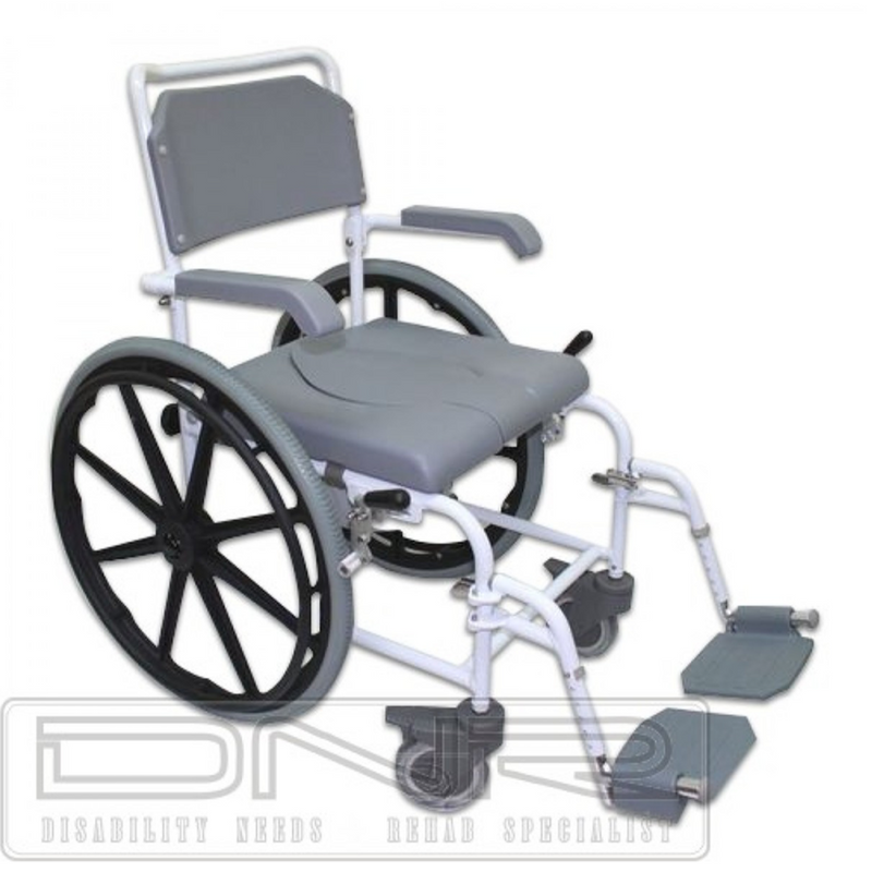 Deluxe Self-Propel Commode - DNR Wheels