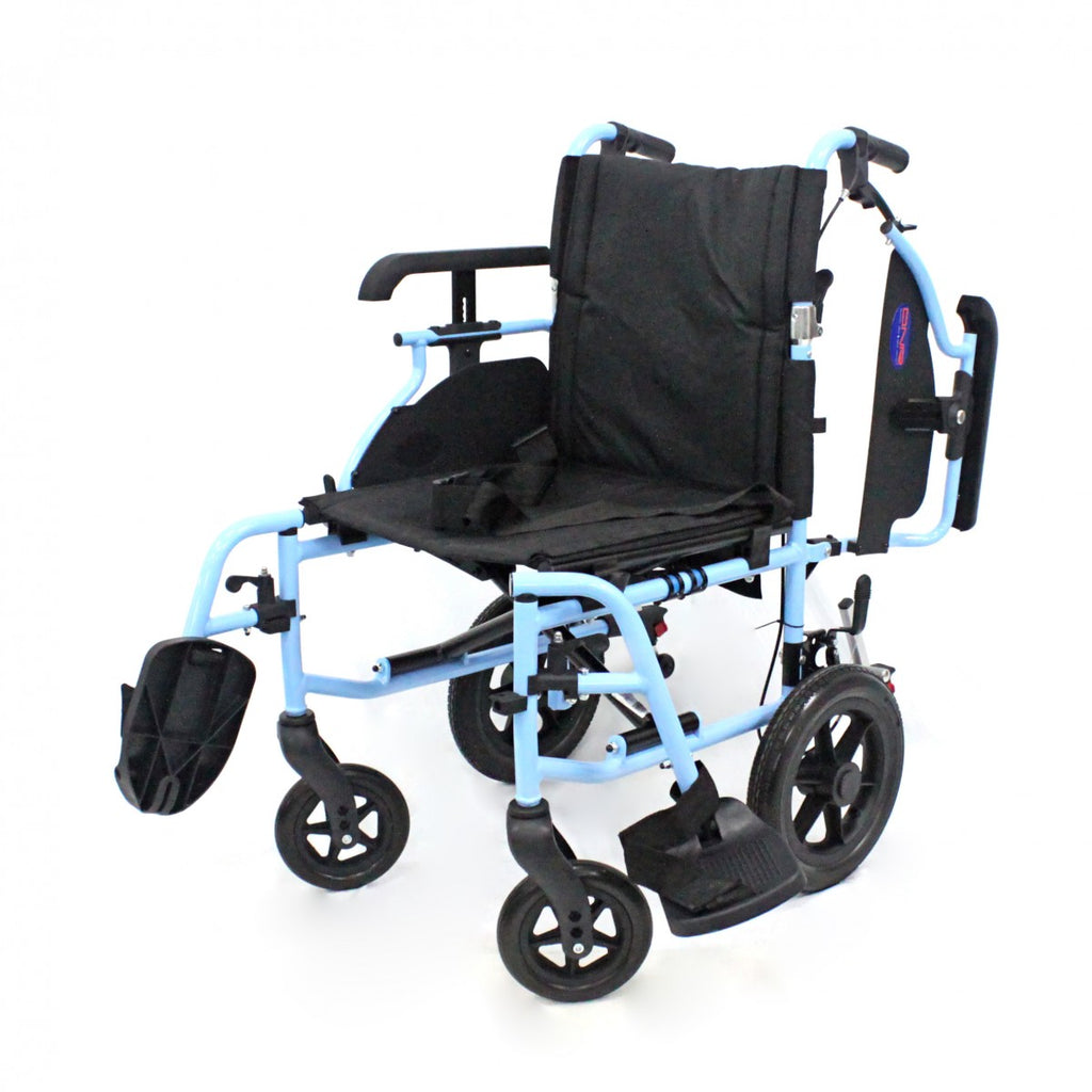 DNR Wheels - DNR LIGHTWEIGHT DETACHABLE PUSHCHAIR WITH HEIGHT ADJUSTABLE ARMREST