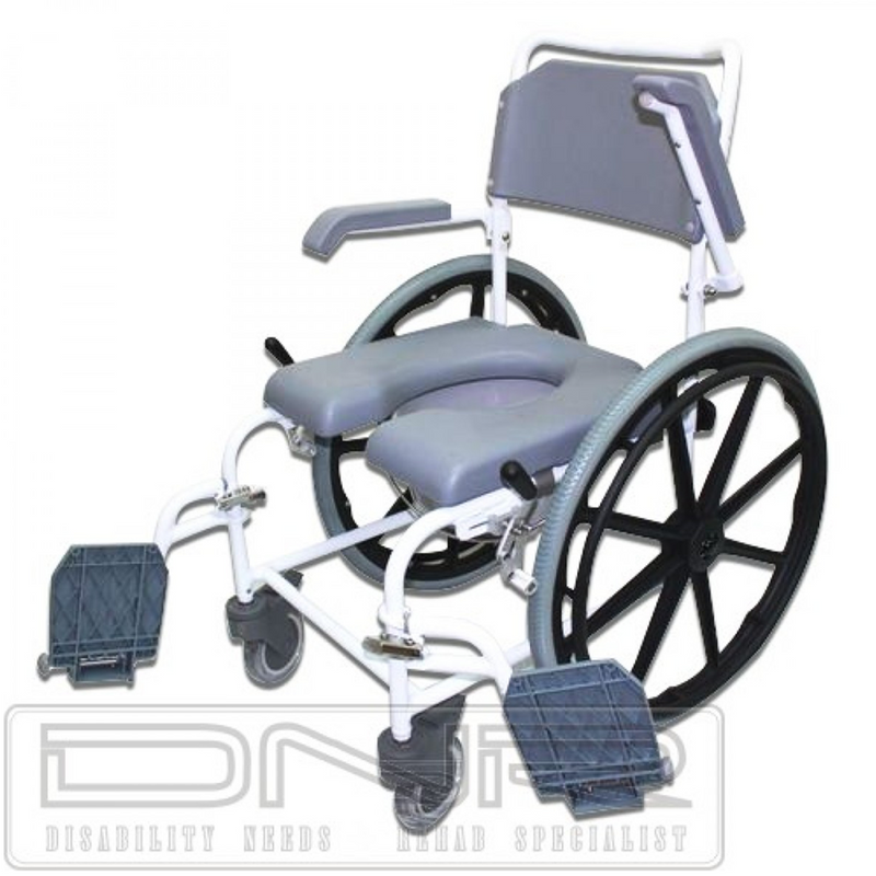 Deluxe Self-Propel Commode - DNR WHEELS PTE LTD