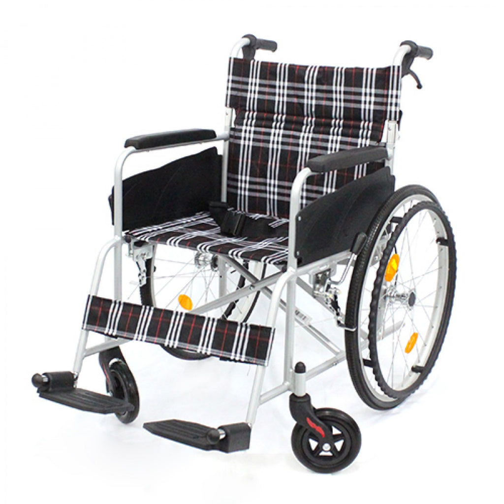 APLUS LIGHTWEIGHT STANDARD WHEELCHAIR - DNR WHEELS PTE LTD