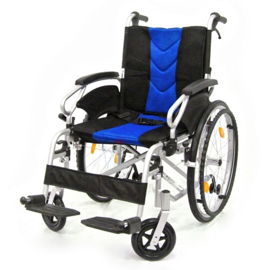 DNR Wheels - APLUS LIGHTWEIGHT DETACHABLE WHEELCHAIR