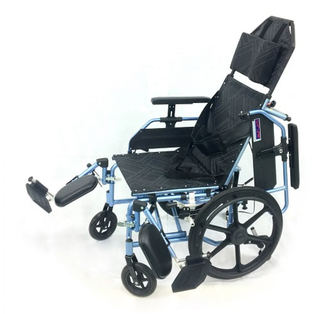 APLUS LIGHTWEIGHT RECLINER WHEELCHAIR - DNR Wheels