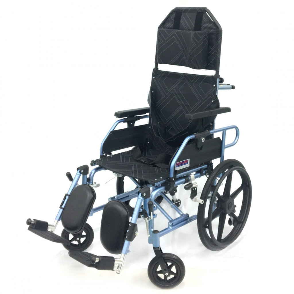 DNR Wheels - APLUS LIGHTWEIGHT RECLINER WHEELCHAIR