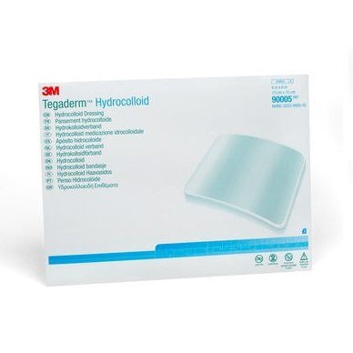 3M™ Tegaderm™ Hydrocolloid Dressing, Square, 6 inch x 6 inch (Box of 3)