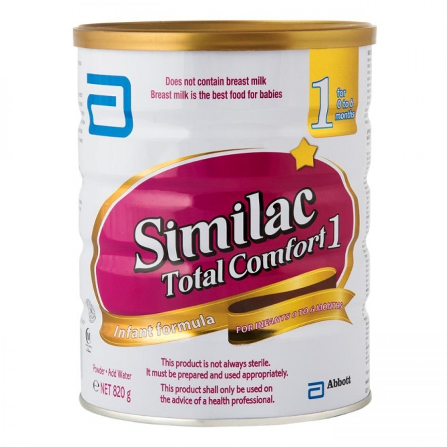 DNR Wheels - Similac Total Comfort Infant 850GM