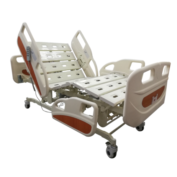 3 Functions Electric Hospital Bed (Panel Side Frames)