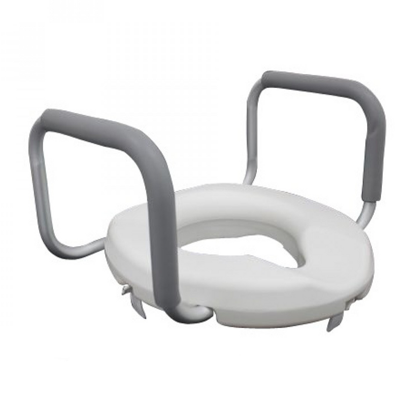 DNR Wheels - Raised Toilet Seat w/ Handle 3""