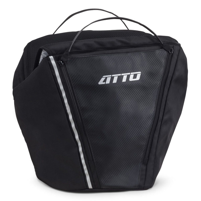Carryall & Cushion for Atto Scooter (Black)