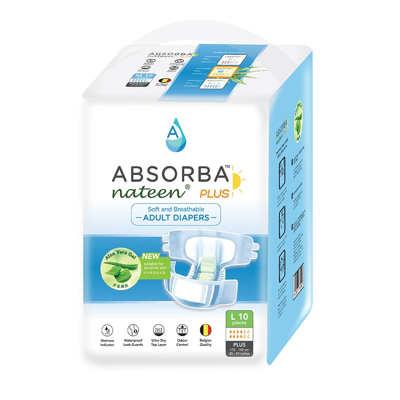 Absorba Plus Diapers