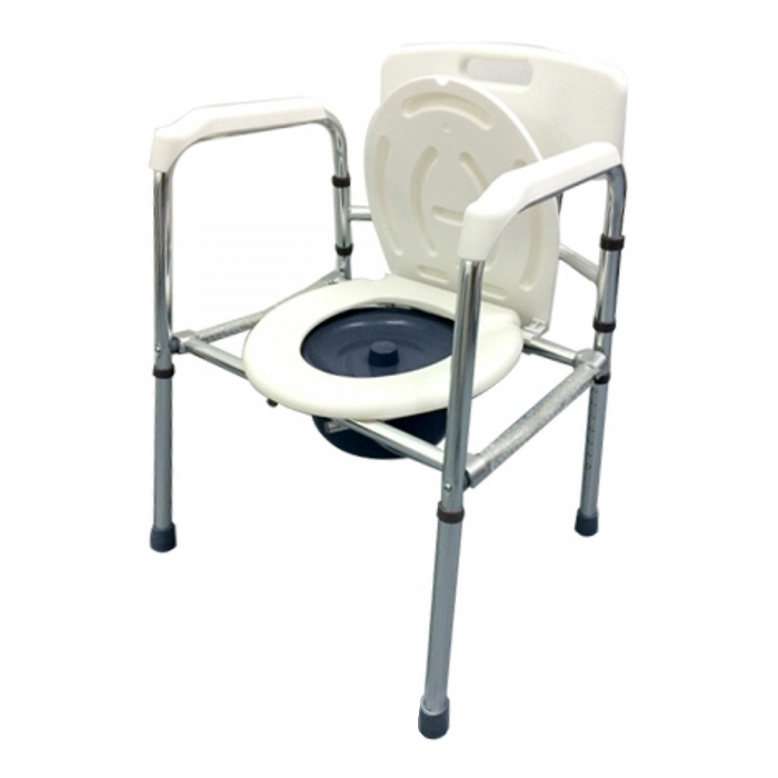 Foldable Aluminium Stationary Commode