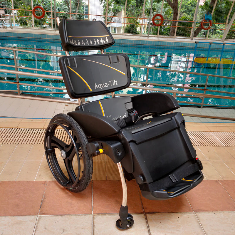 AquaTilt Pool Wheelchair front view