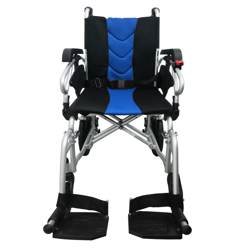 ASTRO Detachable Pushchair with Height Adjustable Armrest blue