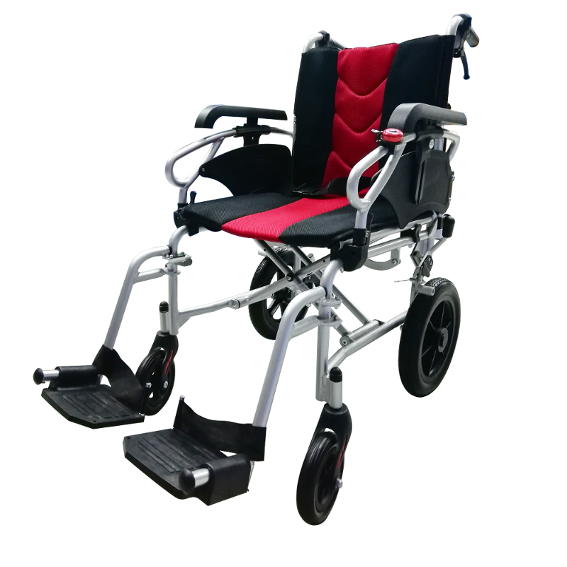 ASTRO Detachable Pushchair with Height Adjustable Armrest red