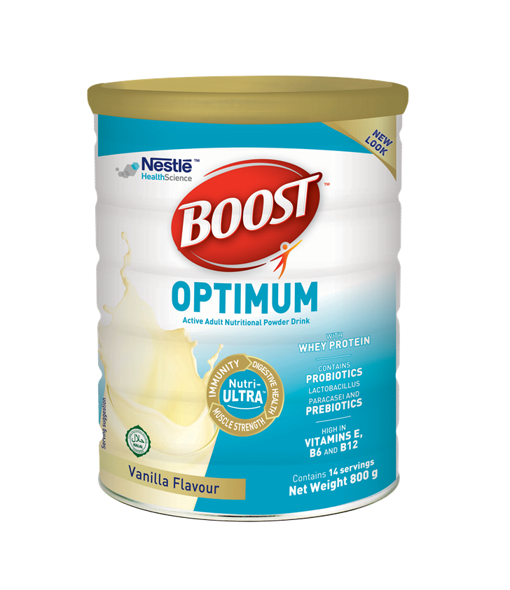 DNR Wheels - Boost Optimum 400g by Nestlé