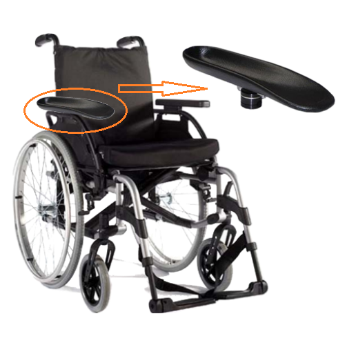 Arm Trough for Wheelchair