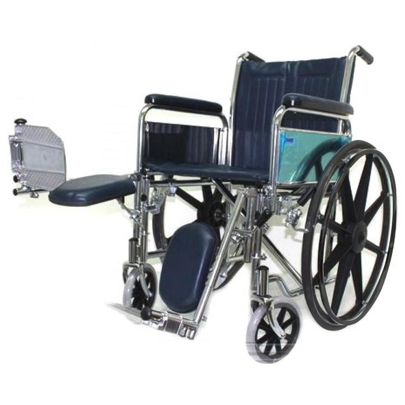 Chrome Elevating Wheelchair elevating legrest