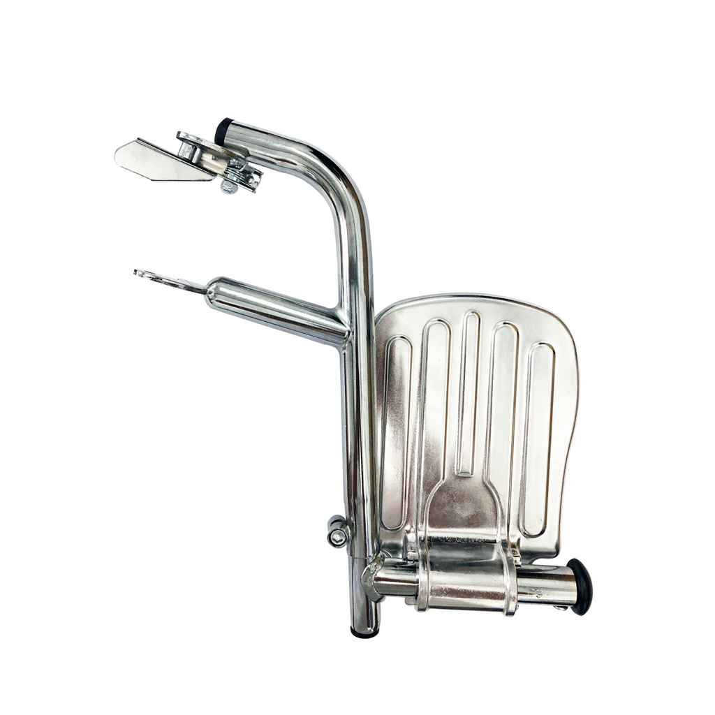 DNR Wheels - Chrome Big Gap Detachable Footrest