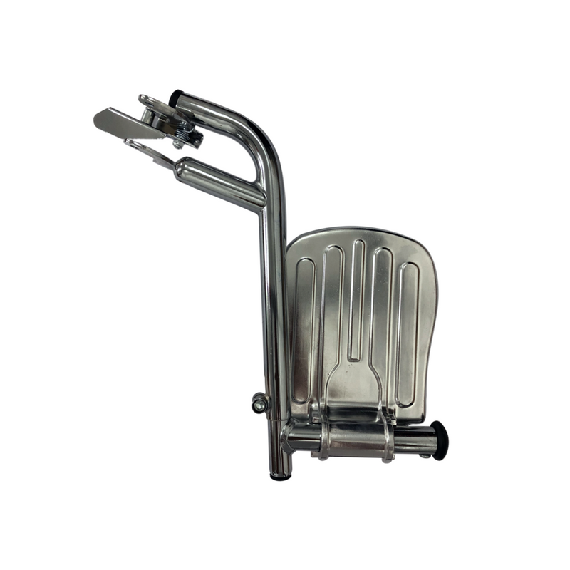 Chrome Detachable Footrest (Pair)