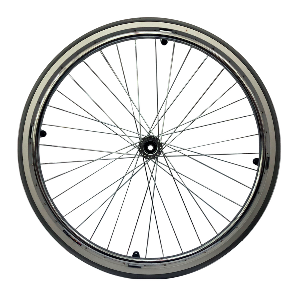 DNR Wheels - Chrome Spoke Wheels 24 x 1""