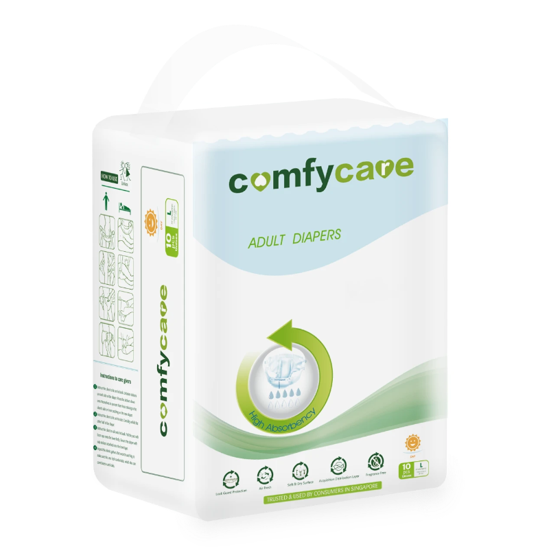 ComfyCare Day Adult Diapers large