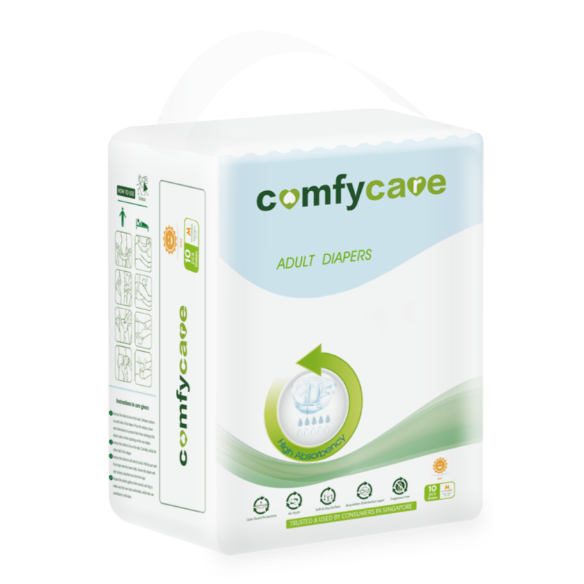 ComfyCare Day Adult Diapers medium