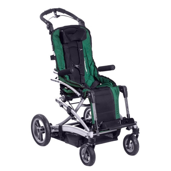 Convaid Rodeo Lightweight Tilt-In-Space and Positioning Pediatric Wheelchair
