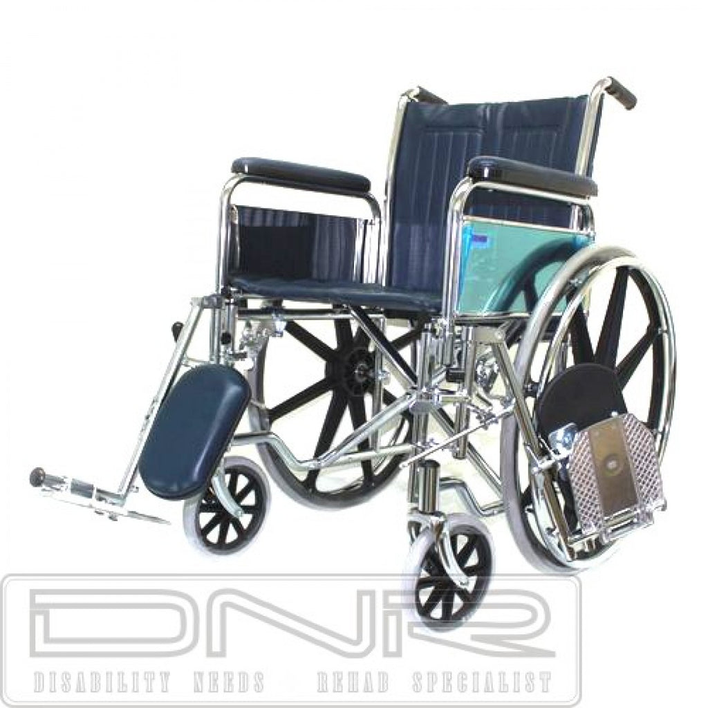 CHROME ELEVATING WHEELCHAIR - DNR WHEELS PTE LTD