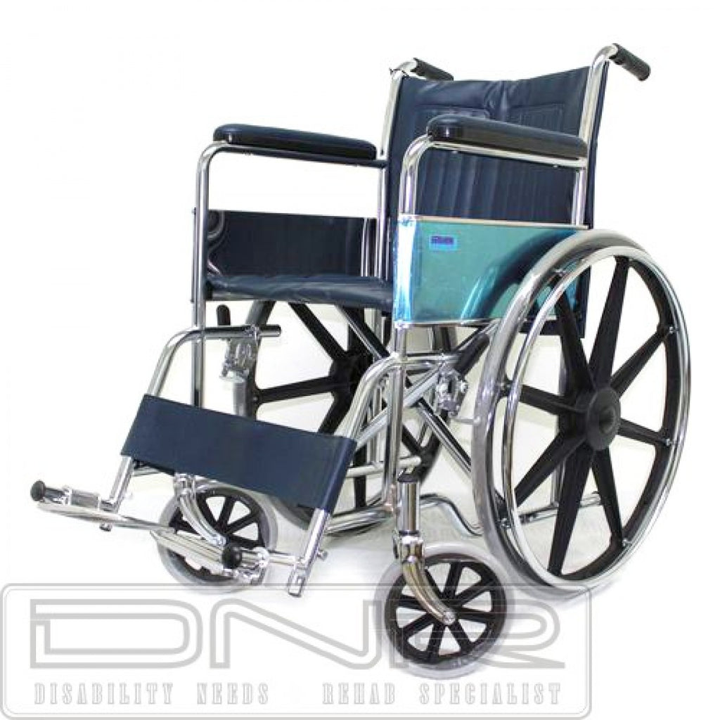 DNR Wheels - CHROME STANDARD WHEELCHAIR