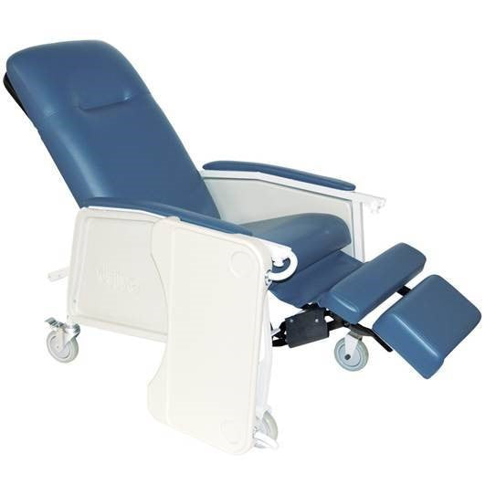 Mobile Bariatric Geri Chair with Tray