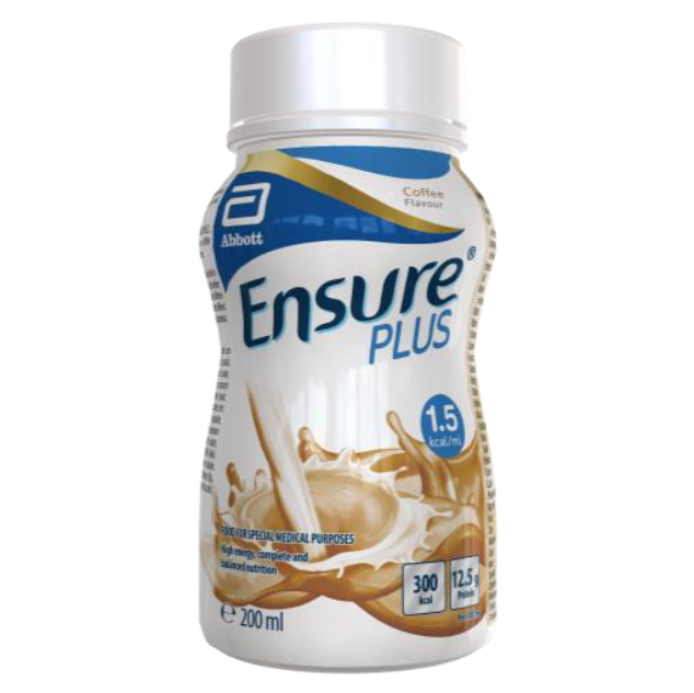 Abbott Ensure Plus Coffee 200ml (24 bottles)