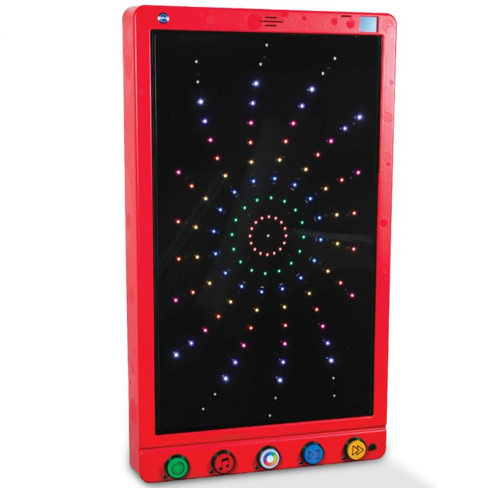Fireworks Extravaganza Sensory Room Wall Panel red