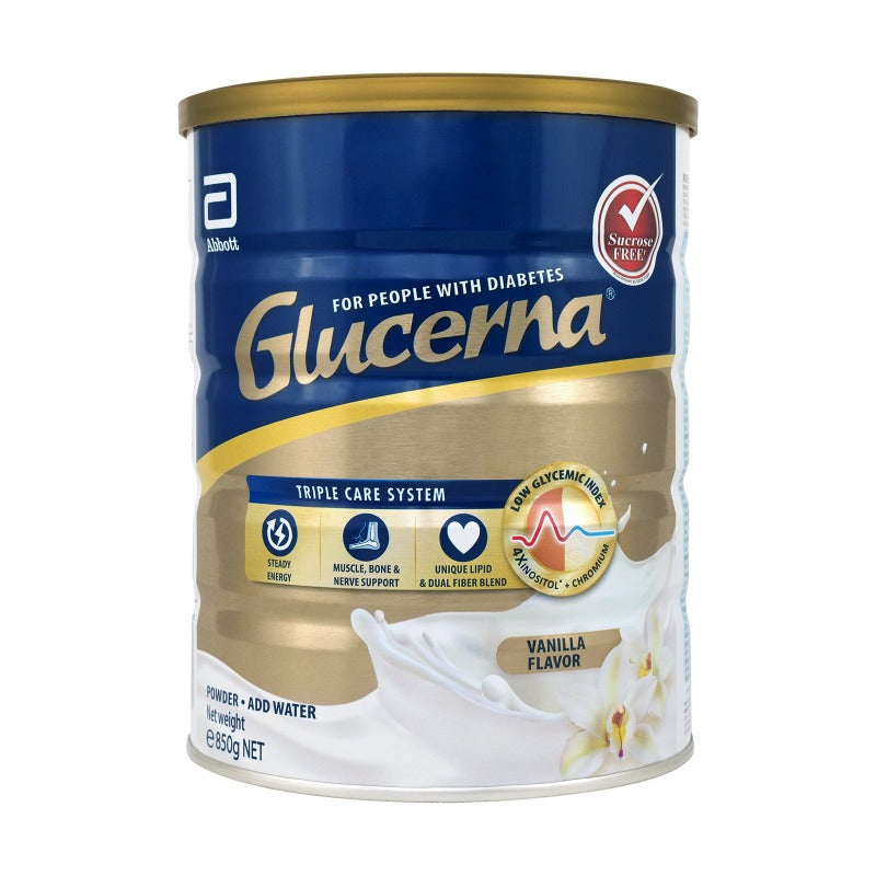 Abbott Glucerna Triple Care Powder 850g (Vanilla)