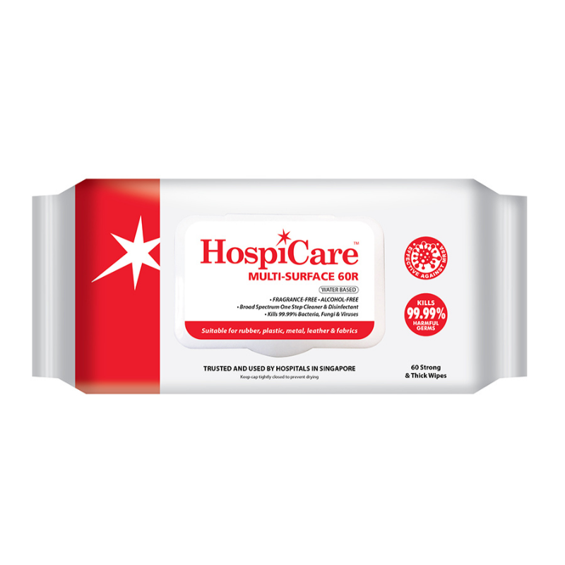 Hospicare 60R Multi Surface Disinfectant Wipes