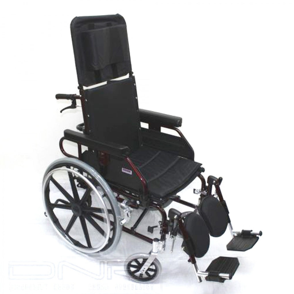 DNR Wheels - ALUMINIUM RECLINING WHEELCHAIR