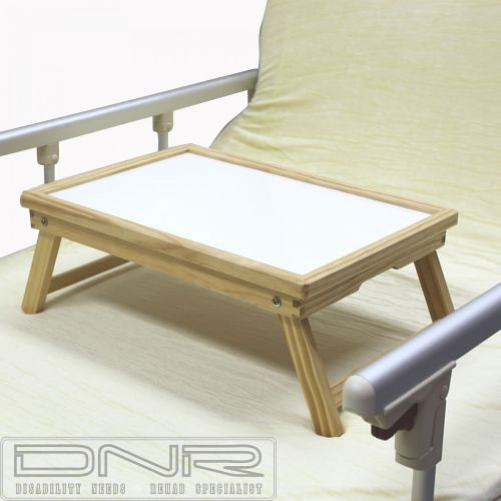 DNR Wheels - Adjustable Wooden Bed Tray