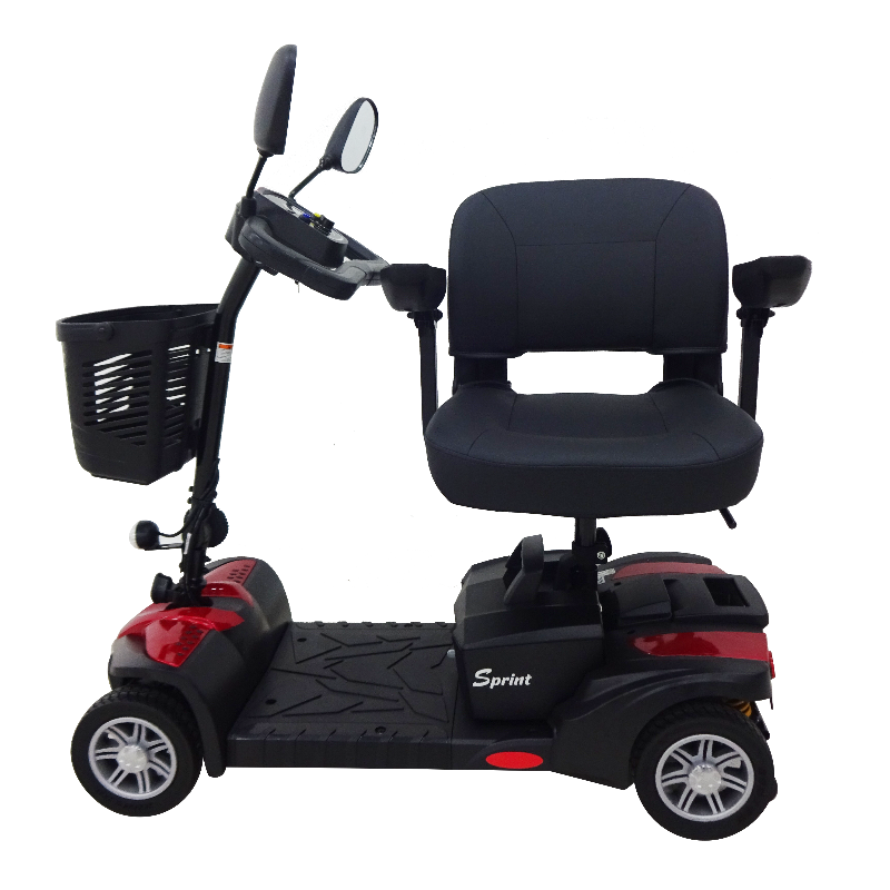 Eurocare 4 Wheels Sprint Scooter full view