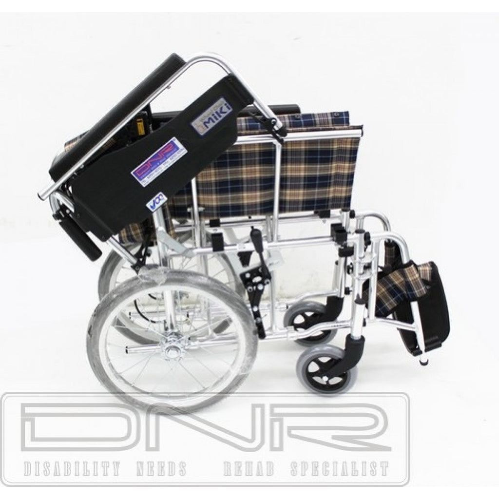 DNR Wheels - MIKI DETACHABLE PUSHCHAIR FOLDBACK WITH ASSISTED BRAKES
