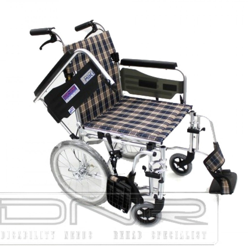 MIKI DETACHABLE PUSHCHAIR FOLDBACK WITH ASSISTED BRAKES - DNR WHEELS PTE LTD